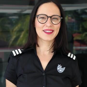 Elena Oprea, CHIEF STEWARDESS