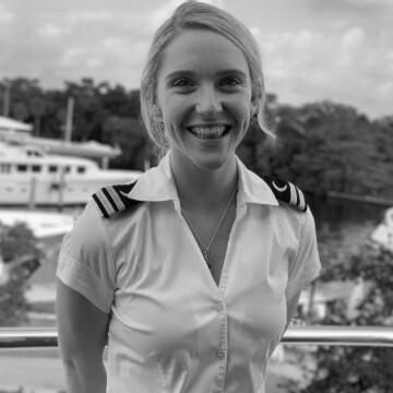Sarah Murphee, Second Stewardess